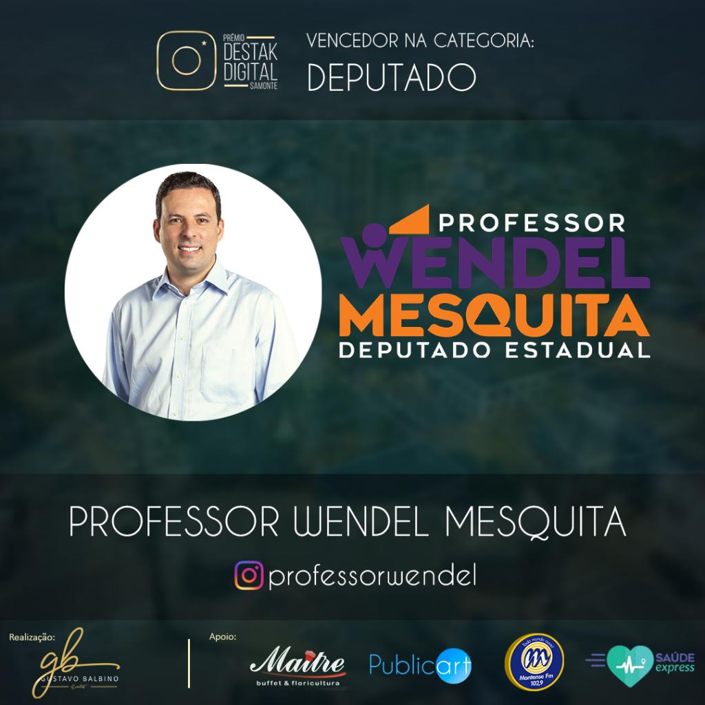 Professor Wendel Mesquita